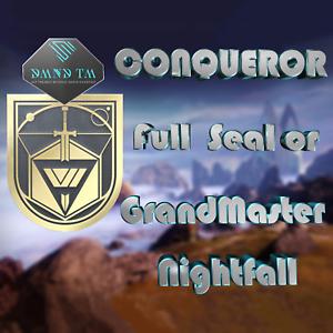 Destiny-2-Nightfall-GrandMaster-CONQUEROR-Full-Seal-Completion-PS4