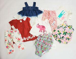 NWT-Baby-Gap-Girls-0-3-Months-Dress-Swimsuit-Leggings-Old-Navy-Top-Bubble-Romper