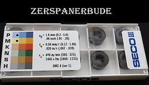 10-Wendeplatten-RCMT-1204M0-F1-TP2500-DURATOMIC-SECO-Neu-u-Ovp