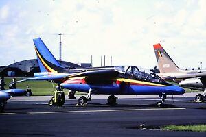 3-732-Dassault-Breguet-Dornier-Alphajet-Belgium-Air-Force-Kodachrome-SLIDE