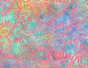 Timeless-Treasures-Daisy-Batik-Cotton-Fabric-TONGA-B6467-Pinata-BTY
