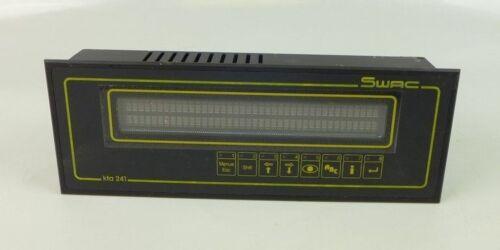 Tu17 display visualizzazione del testo Panel SWAC kta241 KTA 241 s2