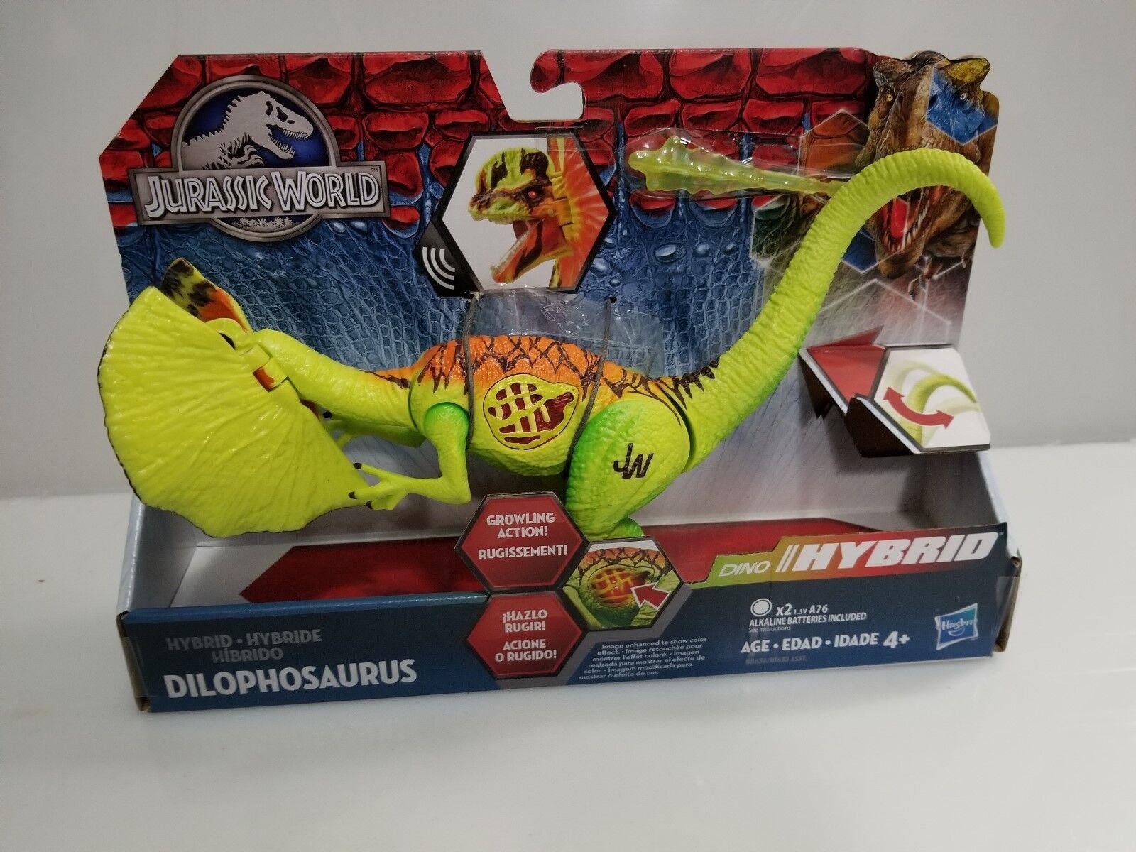 Jurassic World Growler Hybrid Dilophosaurus Toy