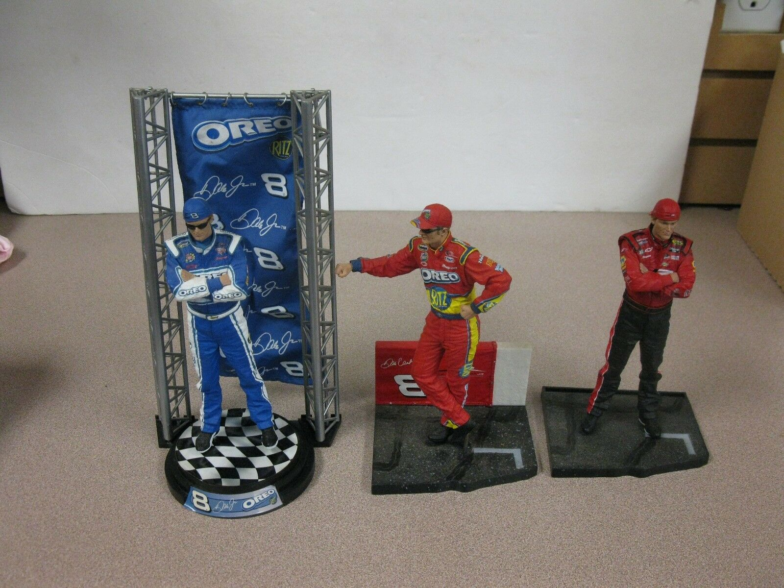3 Dale Earnhardt Jr MCFARLANE TOYS Action Figures