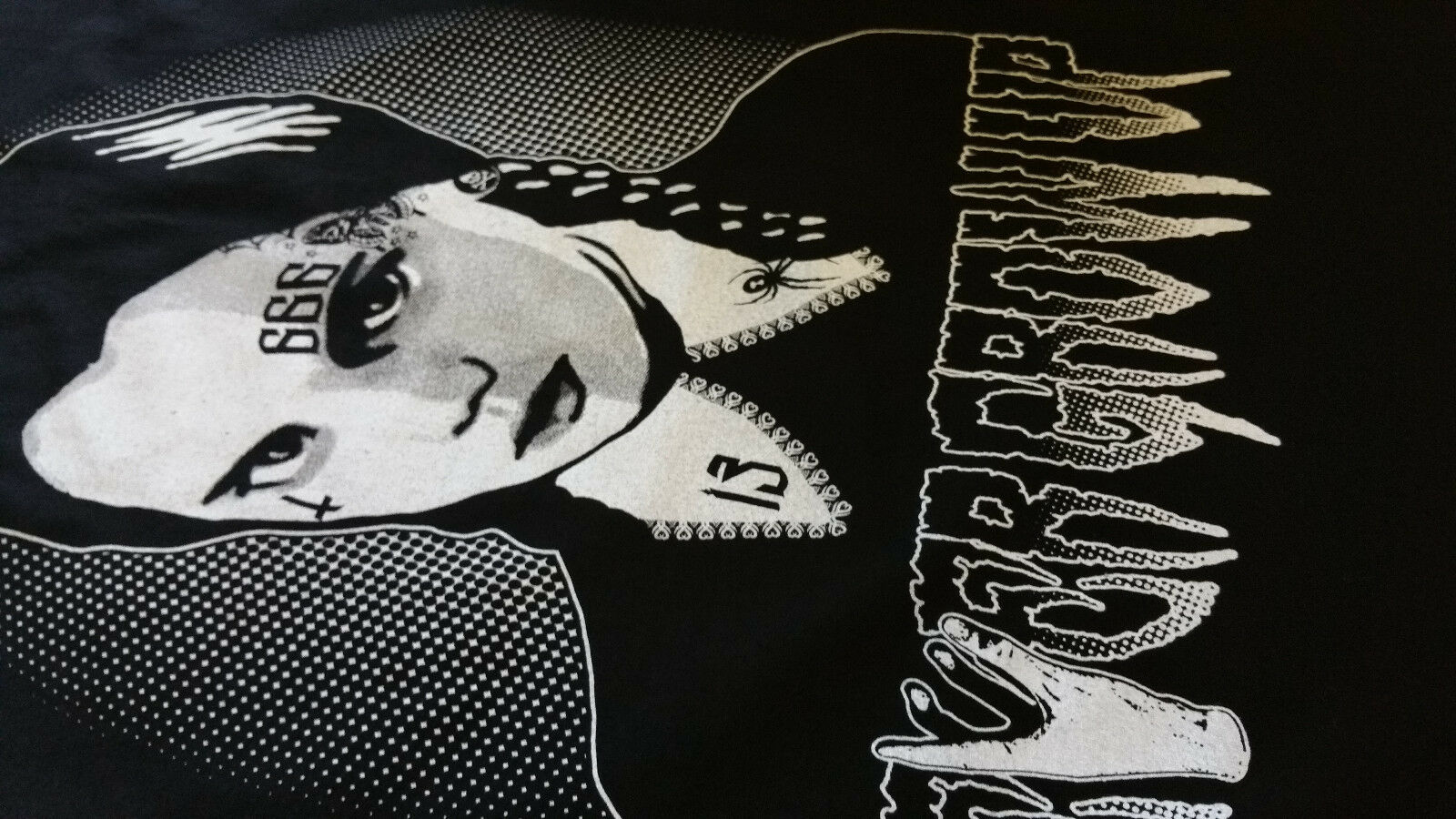 Wednesday Tatuaggio College Giacca Nero/weisstattoo PIN culto, FASHION, gothic, emo, PIN Nero/weisstattoo UP dc77e9