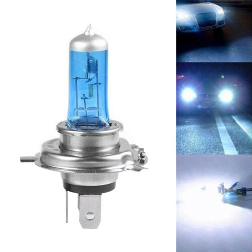 H3 H4 6000K Xenon Gas Halogen Headlight White Car Light Lamp Bulbs 55//100W 12V