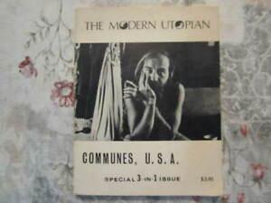 RARE-The-Modern-Utopian-Communes-USA-Dick-Fairfield-1st-ed-Limited-Edition