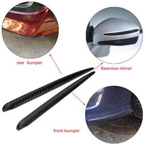 Universal-Car-Carbon-Fiber-Anti-rub-Strip-Bumper-Body-Corner-Protector-Guard-HOT