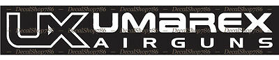 Outdoor Sports UMAREX Airguns II Vinyl Die-Cut Peel N/' Stick Decal