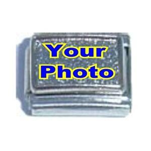 CUSTOM-ANY-IMAGE-Photo-fits-9mm-Classic-Size-Italian-Charm-Bracelet