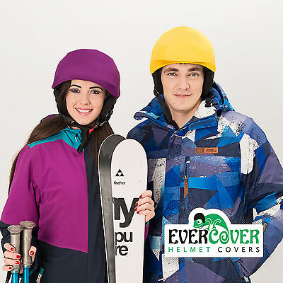 Evercover monochrome helmet covers, ideal for 14 different type of sport helmets