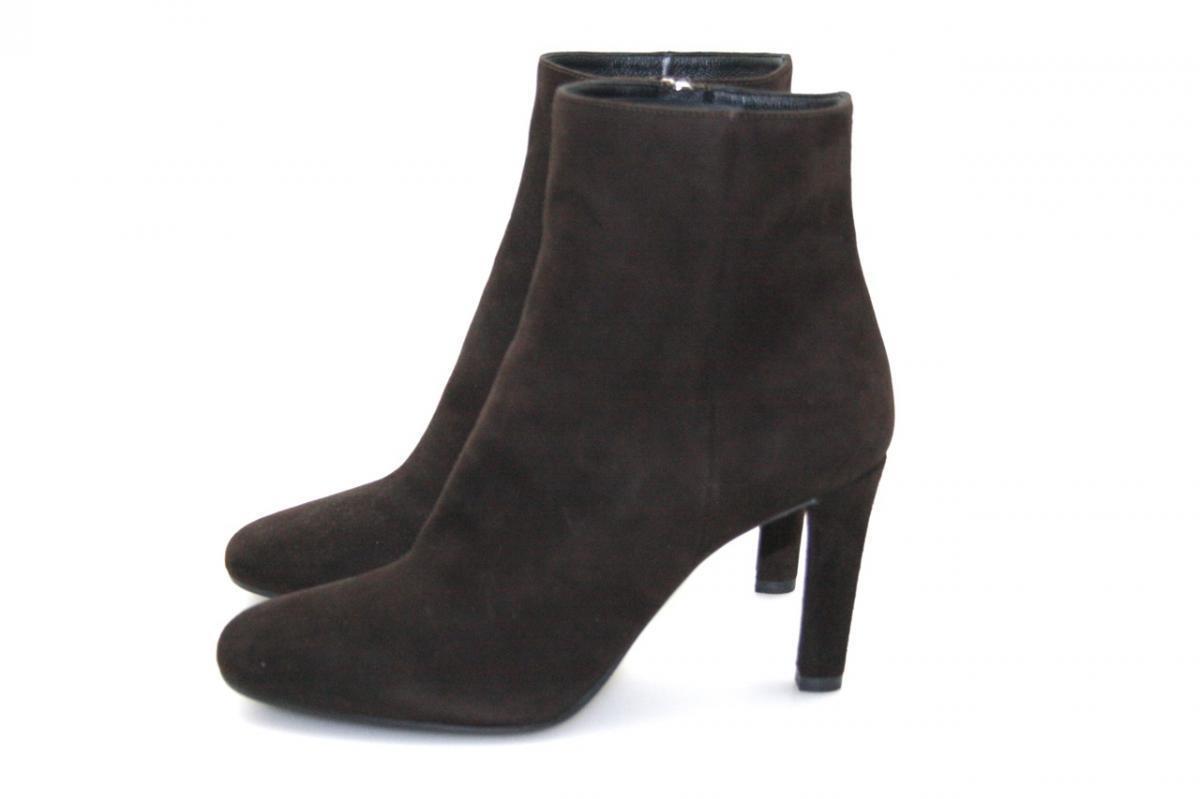 Auténtico de lujo Prada Half-Zapatos Bota 1T516E marrón nuevo nuevo nuevo nos 6.5 EU 36,5 37  venta de ofertas