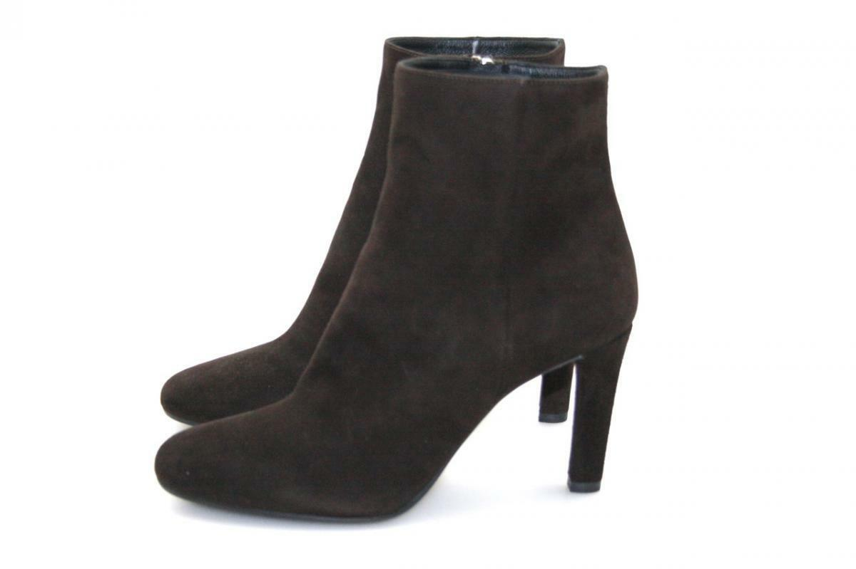 Lujo prada botín zapatos 1t516e marrón nuevo New 36,5 37