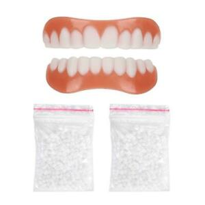 1-Pair-Cosmetic-Teeth-Perfect-Fix-Smile-Veneers-Snap-on-Instant-Flex-Comfort-Fit