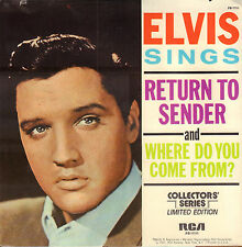 "ELVIS PRESLEY - Return To Sender (1977 US VINYL SINGLE 7"" COLLECTORS' SERIES)"