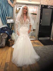 Details About Essence Of Australia Wedding Dress Size 6 Rrp 2400