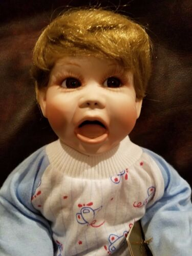 "Diddle Diddle Dumpling by Terry DeHetre Georgetown Doll 17"" nursery Babies"
