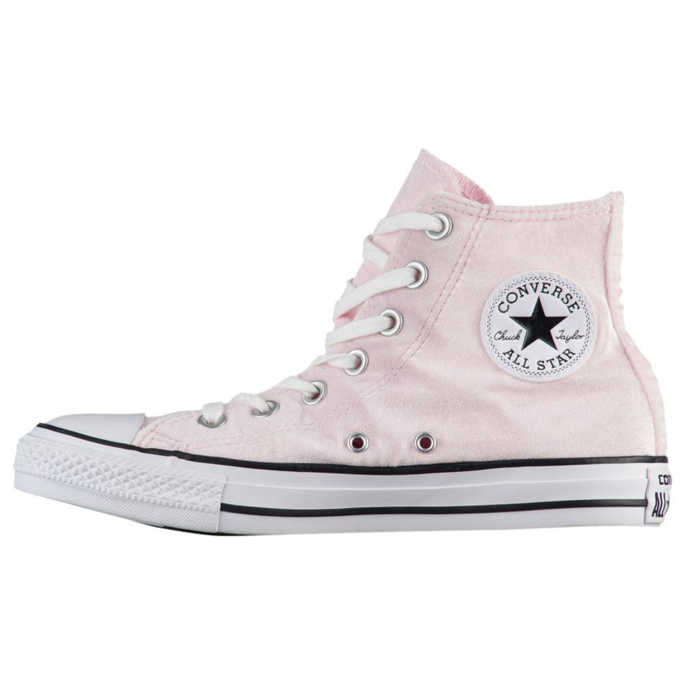 Converse Para Mujeres Mujeres Mujeres Chuck Taylor All Star Hi Zapatos De Terciopelo rosado del Ártico 557930 F B  mejor vendido