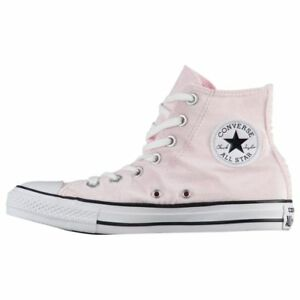 227c04fb8a3a Converse Women s CHUCK TAYLOR ALL STAR VELVET HI Shoes Arctic Pink ...