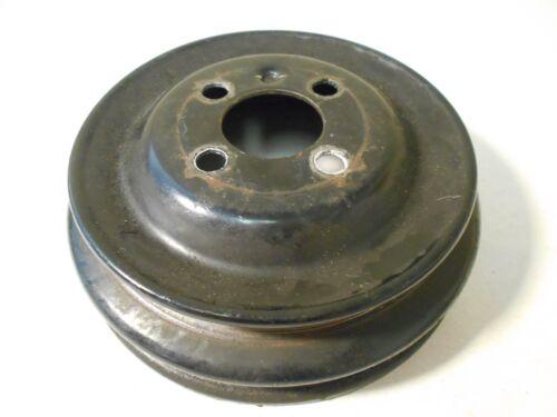 """Volkswagen Dasher Diesel Cast Iron Crankshaft Pulley 7/"""" Dual v Belt 068105255A"""