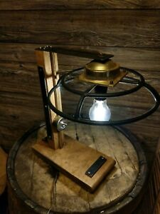 Custom-Industrial-Steampunk-Lamp-Vintage-Salvaged-Parts-brass-wood-steel