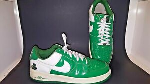 quality design 5a6a8 57933 Image is loading Nike-Air-Force-1-Low-Irish-Varsity-Green-