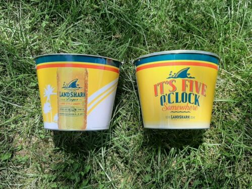 landshark 5 oclock somewhere and corona beer bucket 2 pack.....free shipping
