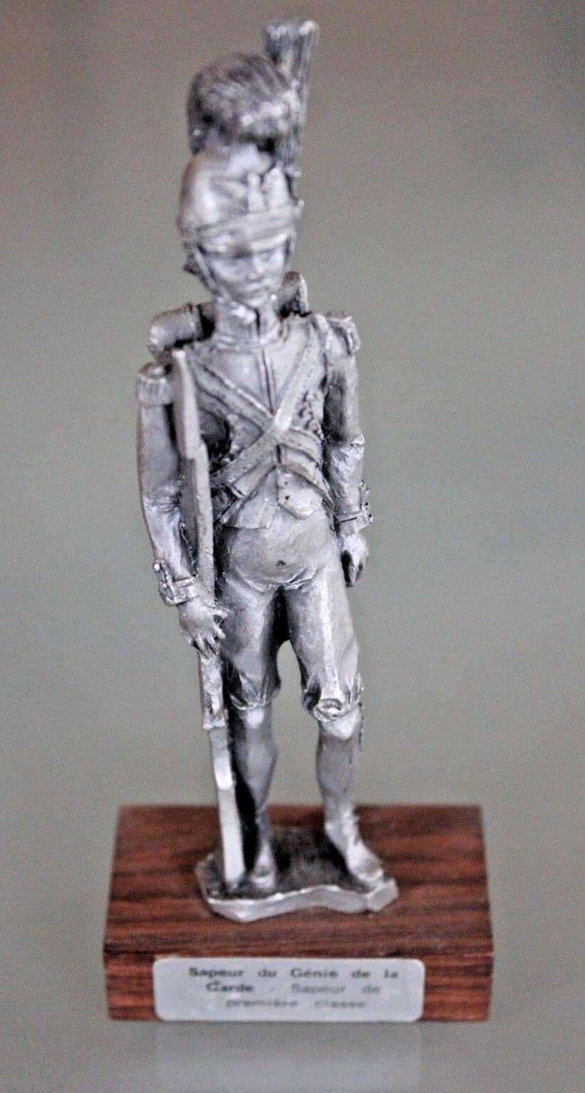 Soldat Zinn das Zinn der Prinz Sapeurs Du Génie der Garde First Class
