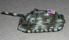 2001 GI Joe - GI Joe Camouflage Green Tank - Hasbro/Funrise toys