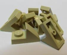 LEGO White Slope 45 2x1 2//3 Cutout Lot of 100 Parts Pieces 92946