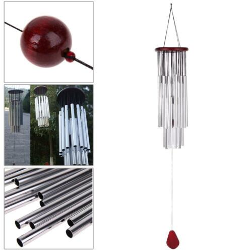 Large Wind Chimes Bells Copper Tubes Outdoor Yard Garden Home Decor Ornament
