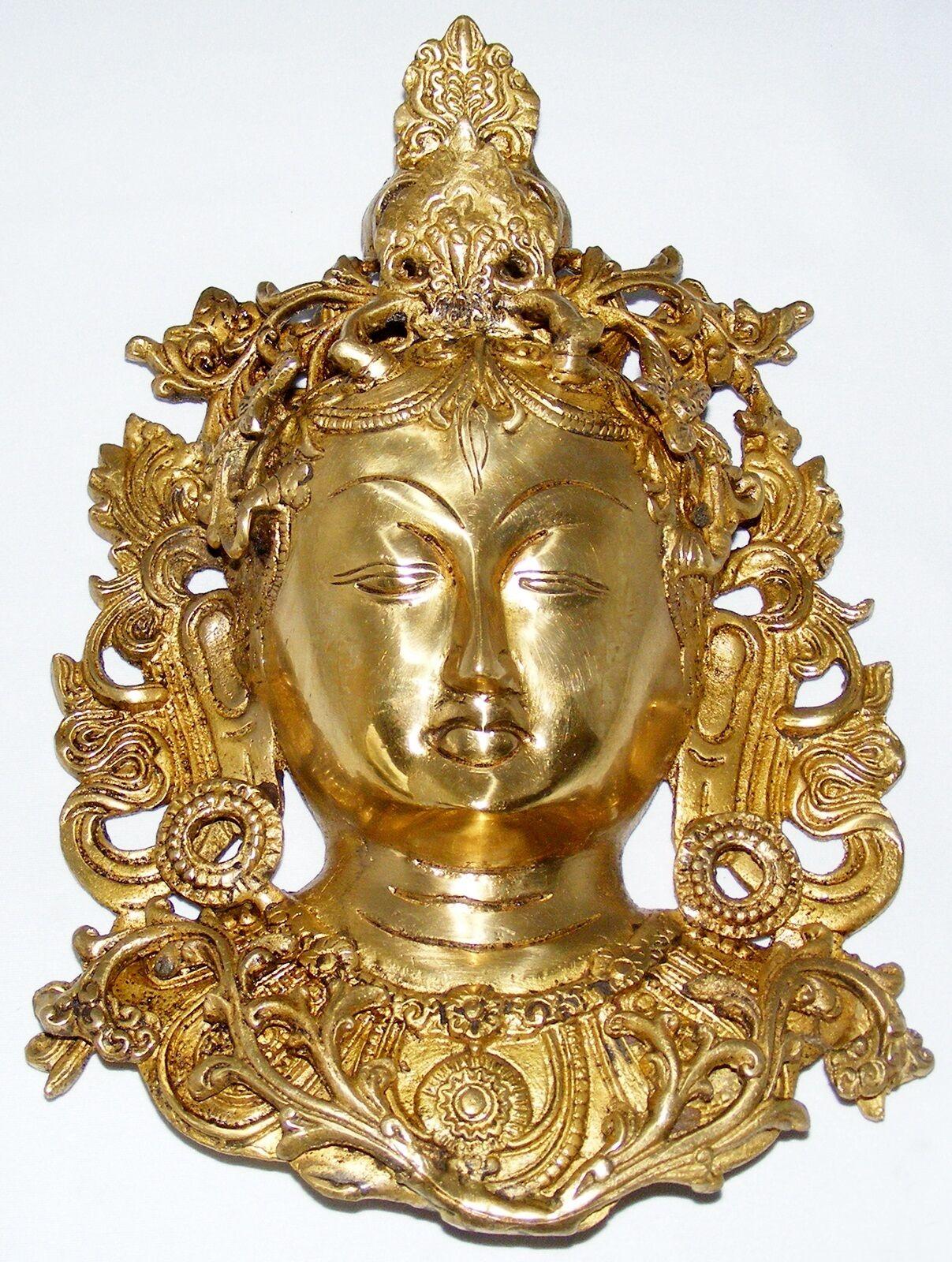 TARA MASKEN  4 DESIGNS  28CM HOCH  2KG 2KG 2KG SCHWER BUDDHA  MEDITATION  TIBET YOGA 41ab48