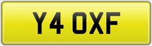 1-DIGIT-CAR-REG-NUMBER-PLATE-Y4-OXF-ALL-FEES-PAID-OXFORD-OXO-JAGUAR-XF-XFR-XFS