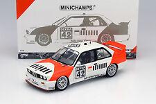 BMW M3 E30 #42 Cor Euser BMW Dealerteam DTM 1991 1:18 Minichamps