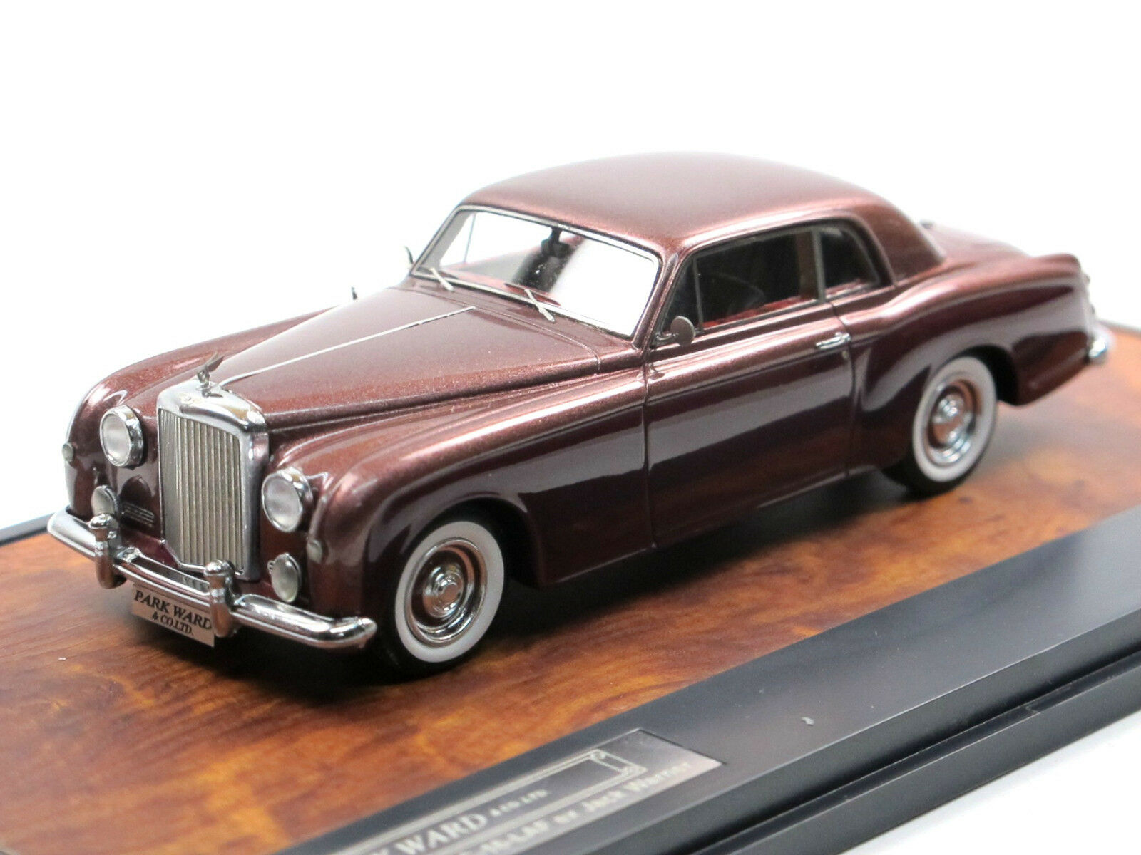 Matriz 1956 Bentley s1 continental Park Ward fhc ex. Jack Warner Maroon 1 43