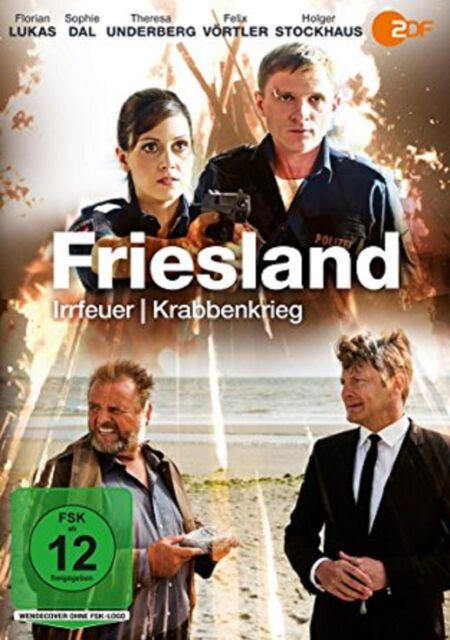 Friesland: Irrfeuer / Krabbenkrieg DVD NEU OVP