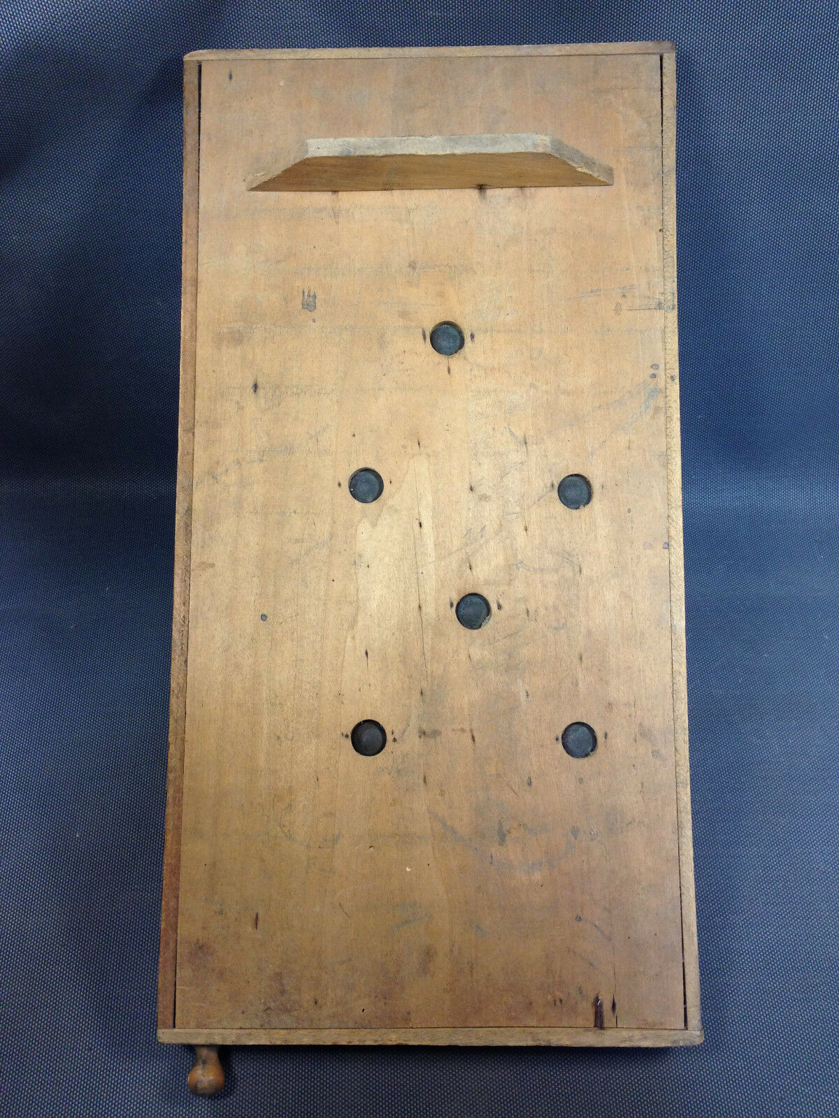 Ancien flipper en en en bois jouet enfant ou bistrot vintage jeu ancien f06963