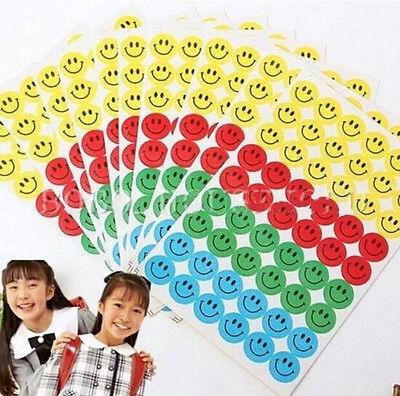 FD1213 Smile Faces Reward Stickers School Teacher Merit Praise Happy *540pcs* g