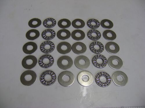 10 AXK1226 Thrust Needle Roller Bearings 12x26x2 mm With Washers A53