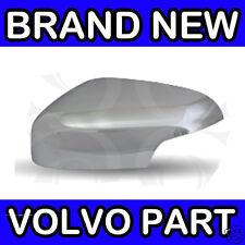 Volvo C30 S40 V50 (07-08)(Matt Chrome) Left Hand Door Mirror Back Cover / Casing