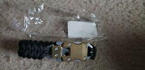 paracord knife bracelet