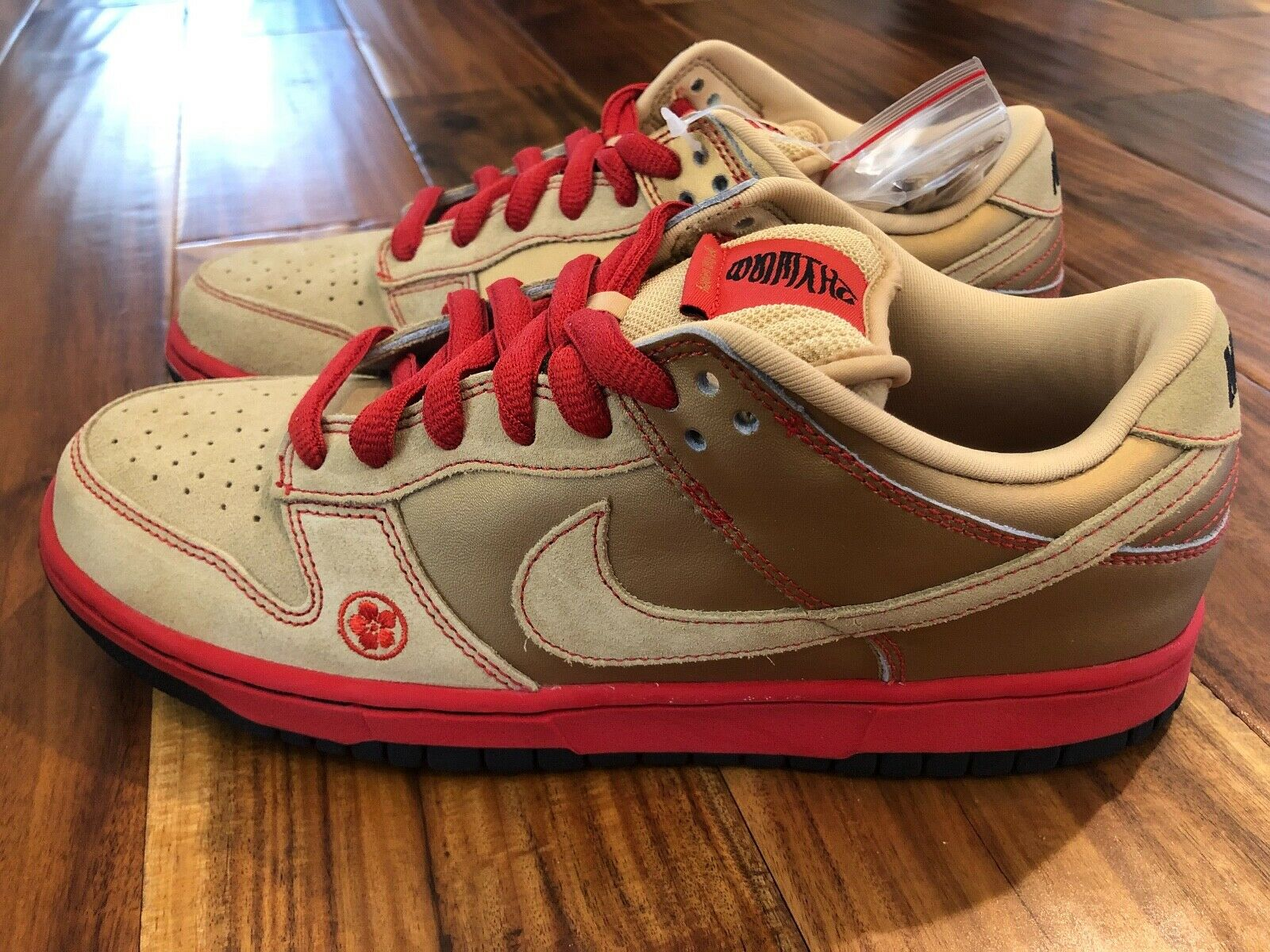 Nike Nike Nike Pro SB Dunk Low   Money Cat  Authentic Rare DS - 2007 release cc201b