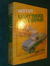 1980-1986 CHEVY JEEP FORD DODGE GMC TOYOTA NISSAN TRUCK & VAN SHOP MANUAL BOOK