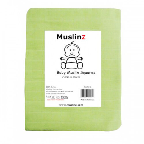 1 2 or 3 packs Superior Muslinz Muslin Squares//Cloths Supersoft Good Quality