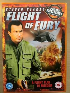 Steven-Seagal-Volo-di-Fury-2007-Combattere-Fabbrica-Action-Thriller-UK-DVD