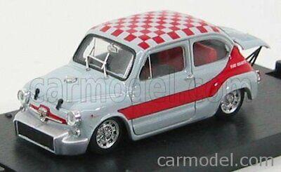 5 1968 Brumm R380-03 1:43 Modellino Auto Diecast Fiat Abarth 1000 Berlina Gr