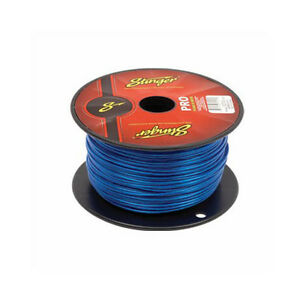 100 Feet Stinger HPM Series 4 Gauge AWG Clear Power Ground HyperFlex Wire SHW14C