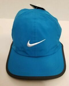 on feet images of buy good incredible prices Details about Nike Unisex Featherlight Cap Adjustable Hat Tennis 611811-407  NEW