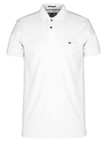 Weekend Offender WOPO005 Dove Logo Polo Shirt in White