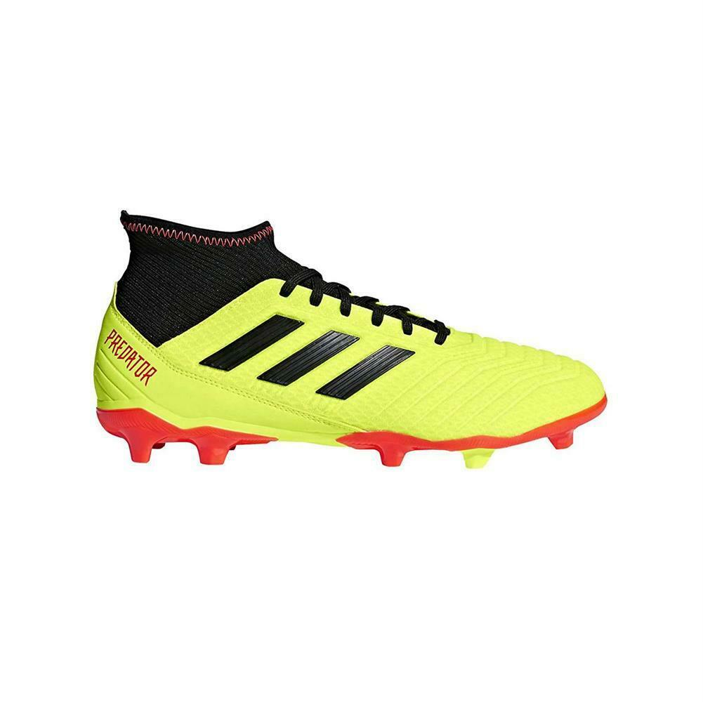 NEW Adidas Men's Athletic shoes Predator 18.3 Firm Ground Soccer Cleats